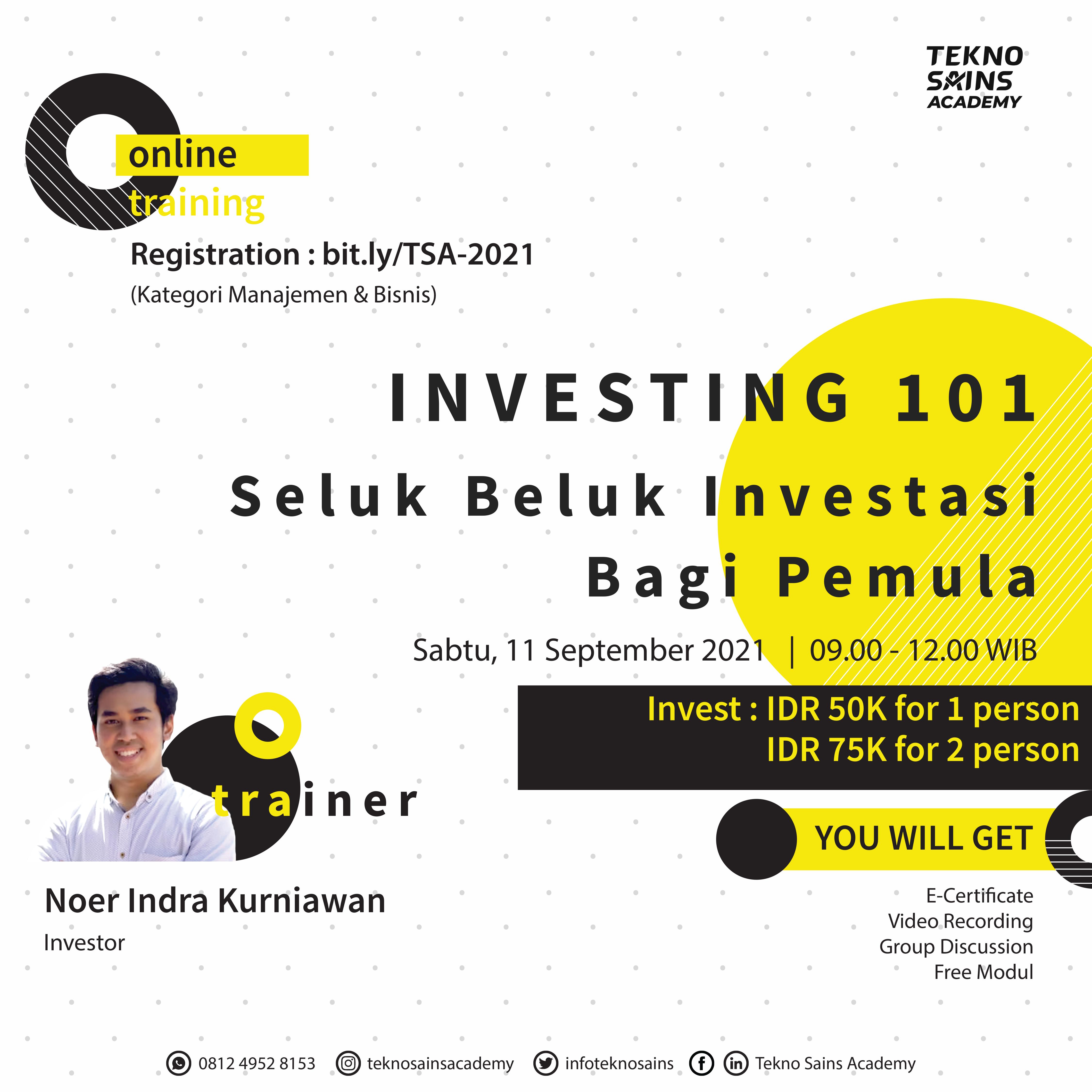 20210712-00 - Flyer Investing 101 11 September