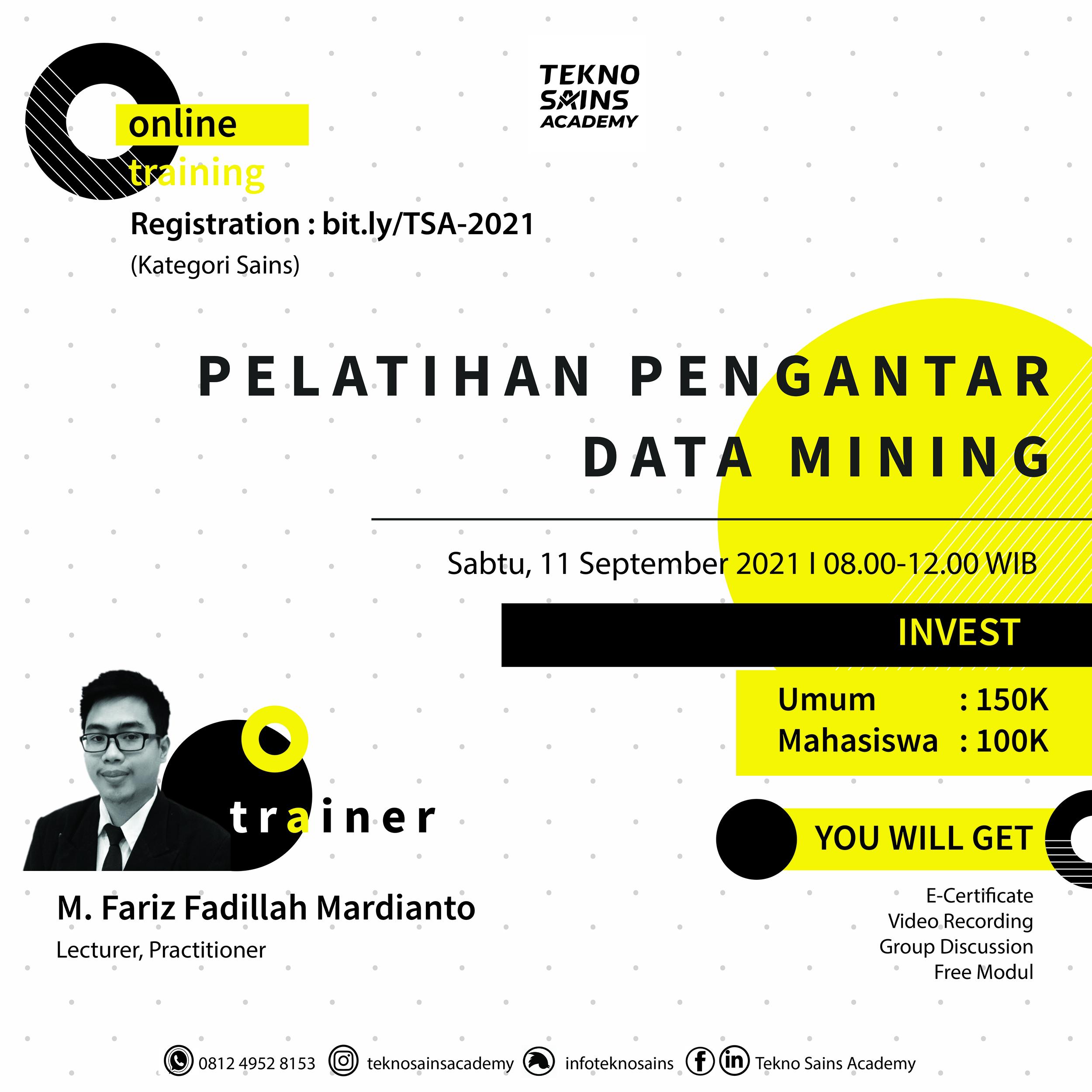 20210806-00-Pelatihan Pengantar Data Mining 1