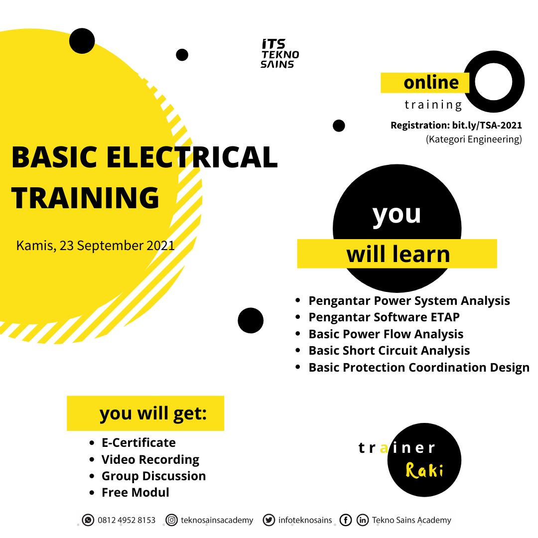 20210831- Basic Electrical Training