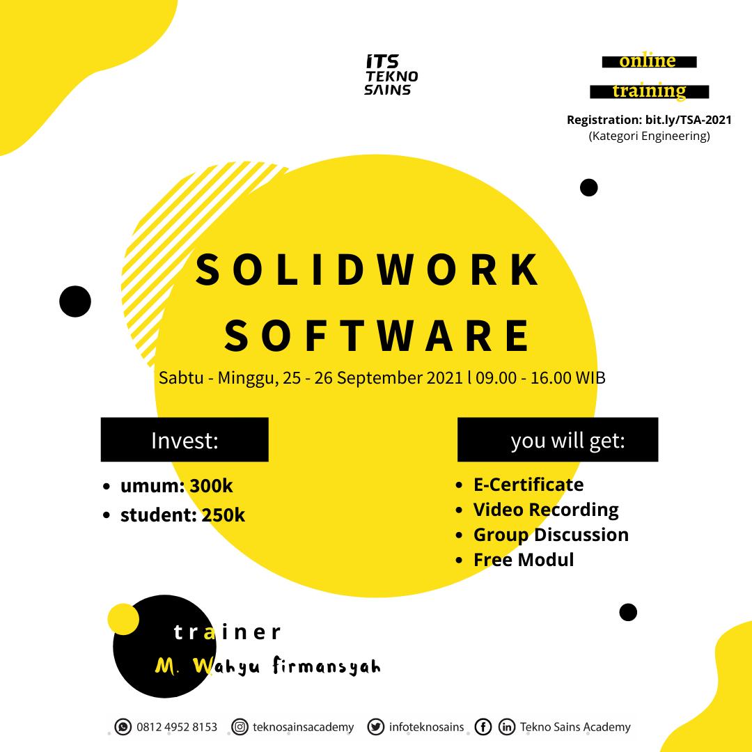 20210901-Solidwork Software